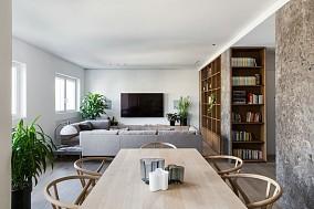110平米改造现代大气简约一房两厅10841632