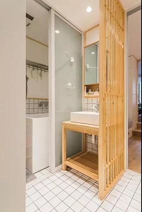 家的轮廓存在于每个人心中,温馨精致卫生间日式设计图片赏析