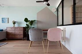 满屋的原木元素还可以这么玩厨房北欧极简设计图片赏析