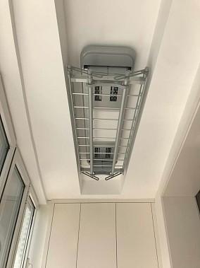 105平米温暖色系的老房改造阳台北欧极简设计图片赏析
