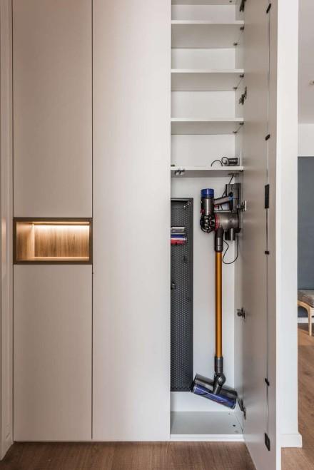 105平米温暖色系的老房改造功能区