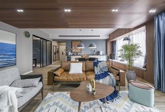 110平米三居现代风格  现代家居