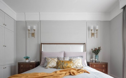 美式格调也能如此浪漫美丽卧室2图