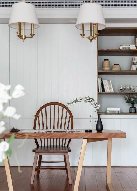 美式格调也能如此浪漫美丽厨房