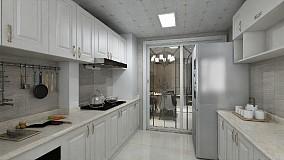 132平简欧风格用纯白打造浪漫餐厅1图欧式豪华设计图片赏析
