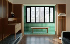 古典日式,属于单身贵族的私密空间阳台日式设计图片赏析