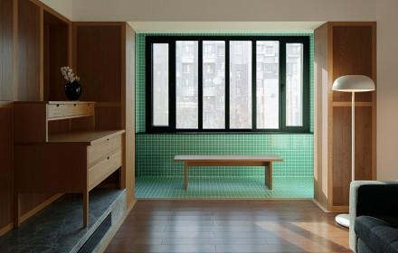 古典日式,属于单身贵族的私密空间阳台