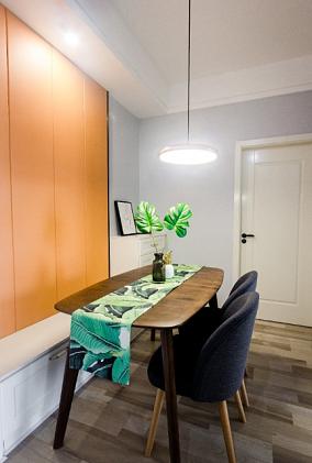 国际社区80平方北欧二居室厨房北欧极简设计图片赏析