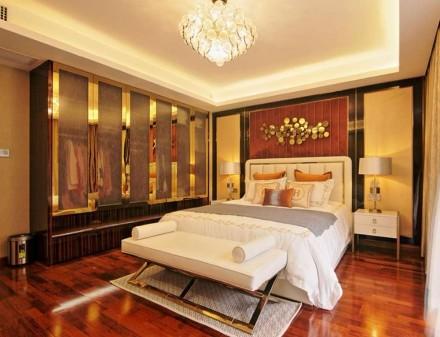 美轮美奂的新中式风格卧室