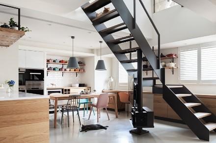 日系清新风也能这么舒适厨房