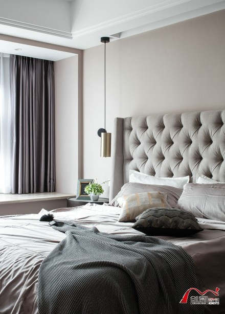 155平方欧式华尔兹卧室