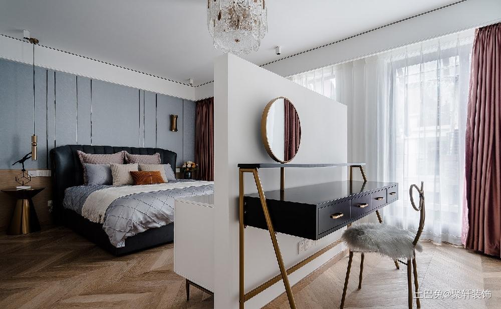 高端大气优雅安静卧室现代简约卧室设计图片赏析