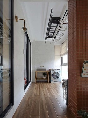 简约舒适的日式风MUJI三居阳台日式设计图片赏析