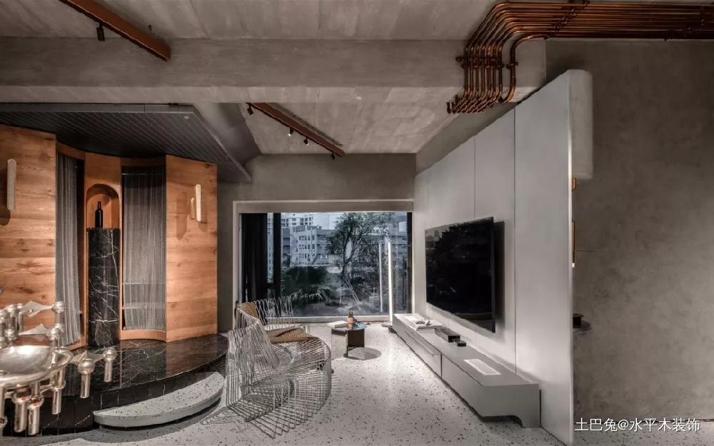 89平未来艺术单身公寓客厅其他客厅设计图片赏析
