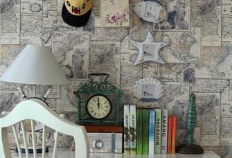 星海人家88㎡两居室地中海风格