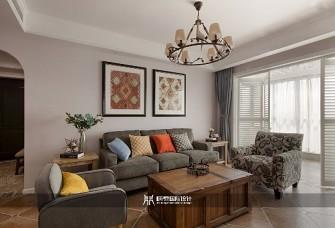 105m²三居室,美式乡村风实拍案例
