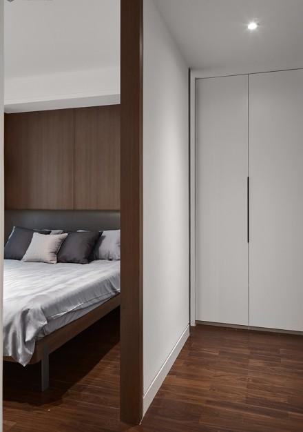 110㎡二居室中式现代,简而不凡!卧室