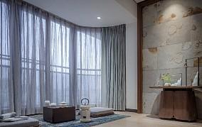 120㎡三居室打造质感生活功能区现代简约设计图片赏析