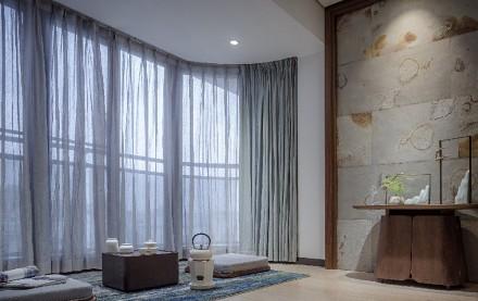 120㎡三居室打造质感生活功能区
