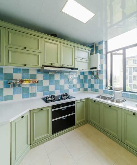 品质的家·135㎡美式风格三居室餐厅