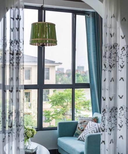 品质的家·135㎡美式风格三居室卧室