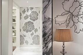 80㎡欧式风格,小资且美好功能区欧式豪华设计图片赏析
