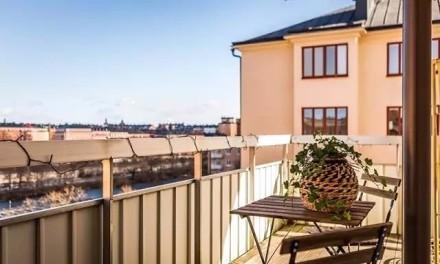 现代风格一居室,繁华深处的静谧悠然阳台