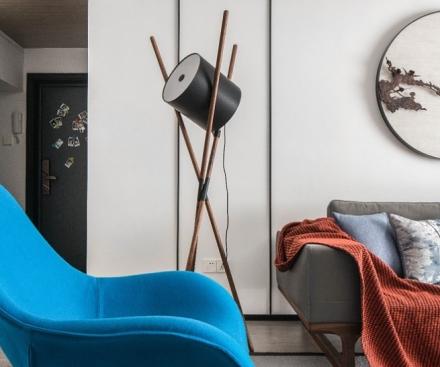 影格调沉稳的中式元素客厅