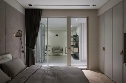 146㎡台式风,这样的设计看一眼就心动卧室