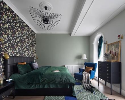 不一样的雨林的'鲸'地中海风格卧室