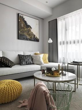 60平两居室现代轻奢,打造格调之家11035312