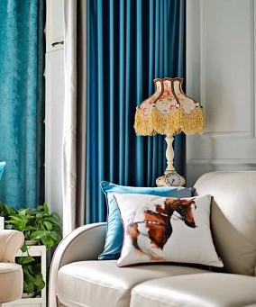 两居室现代风格 那一抹蓝11041088