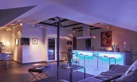 现代风格小户型,触摸阳光的温度客厅1图