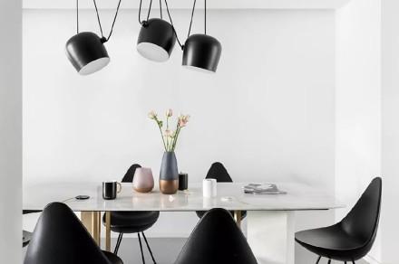 220㎡现代黑白配,沉稳舒适,宁静雅致厨房