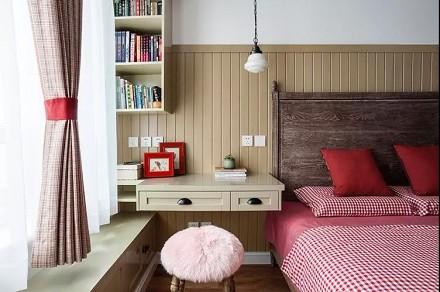 145㎡美式田园风,住在这样的家里卧室