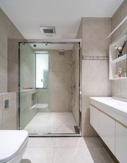 113m²现代+轻美式的缤纷乐活宅卫生间