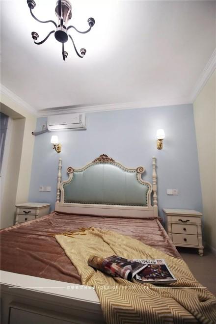 小户型精致美式,自然与野性结合卧室
