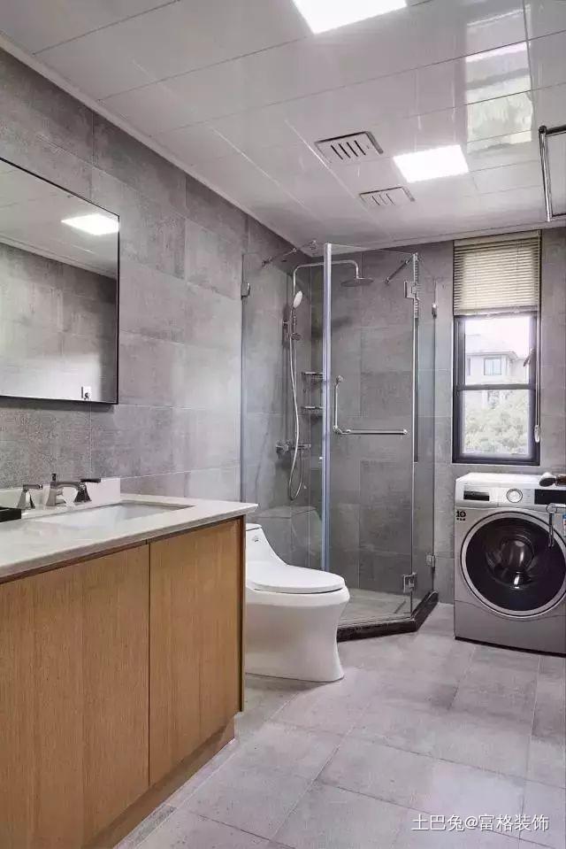 清新日式装修电视墙设计隐形门空间大一倍卫生间日式卫生间设计图片赏析