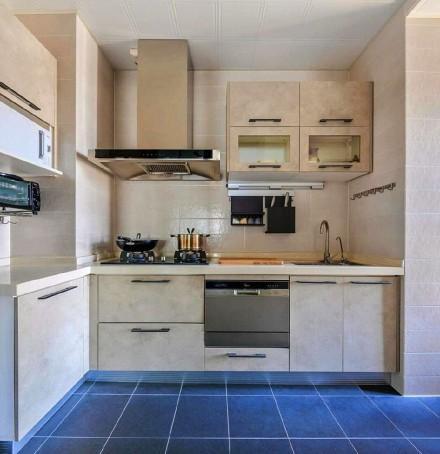 88平米的二居室,混搭风格餐厅