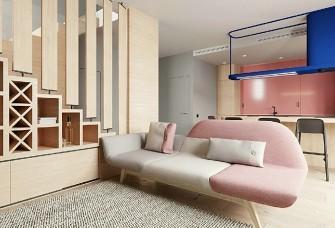 夏日清新公寓,甜蜜的马卡龙色彩