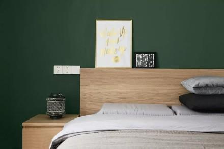 126㎡日式风格三居,享受慵懒舒适慢生活卧室