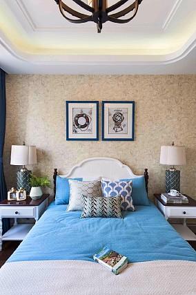 天鹅堡160平乌托邦般梦境奇幻之旅卧室地中海设计图片赏析