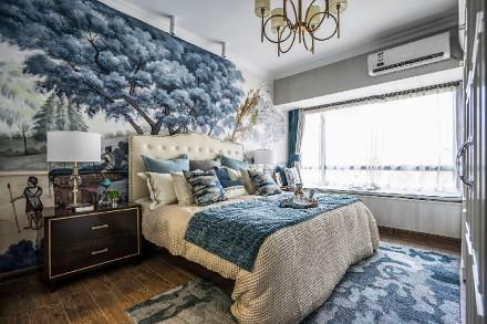 恰到好处的精致,美式田园风卧室