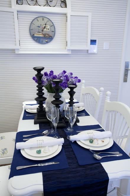 地中海风格,为夏季打造清凉窝!厨房