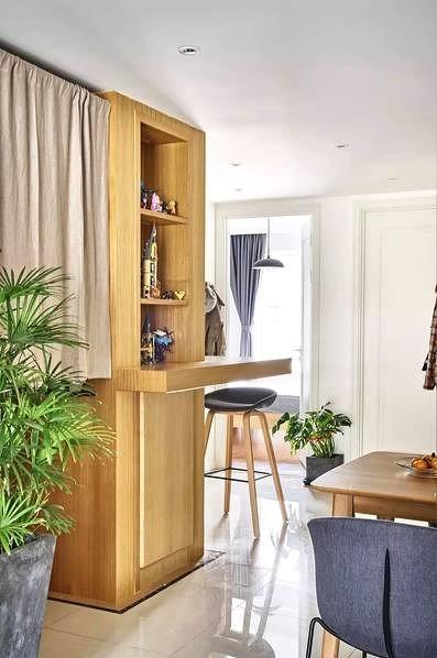 87㎡的家挤出3室2厅,让家变大一倍功能区