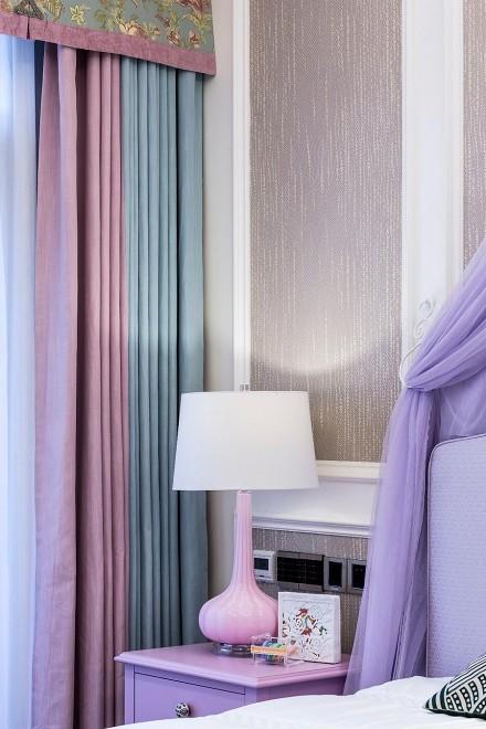 220㎡小别墅简欧式设计案例卧室