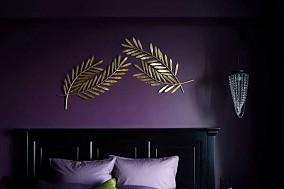 92㎡二居室,重色轻彩复古风卧室1图欧式豪华设计图片赏析