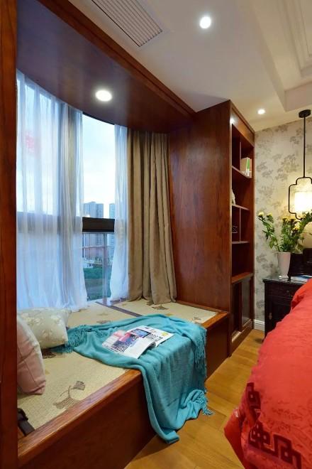 中式混搭风,古香古色卧室