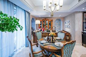 100平三居法式风,悦己者厨房欧式豪华设计图片赏析