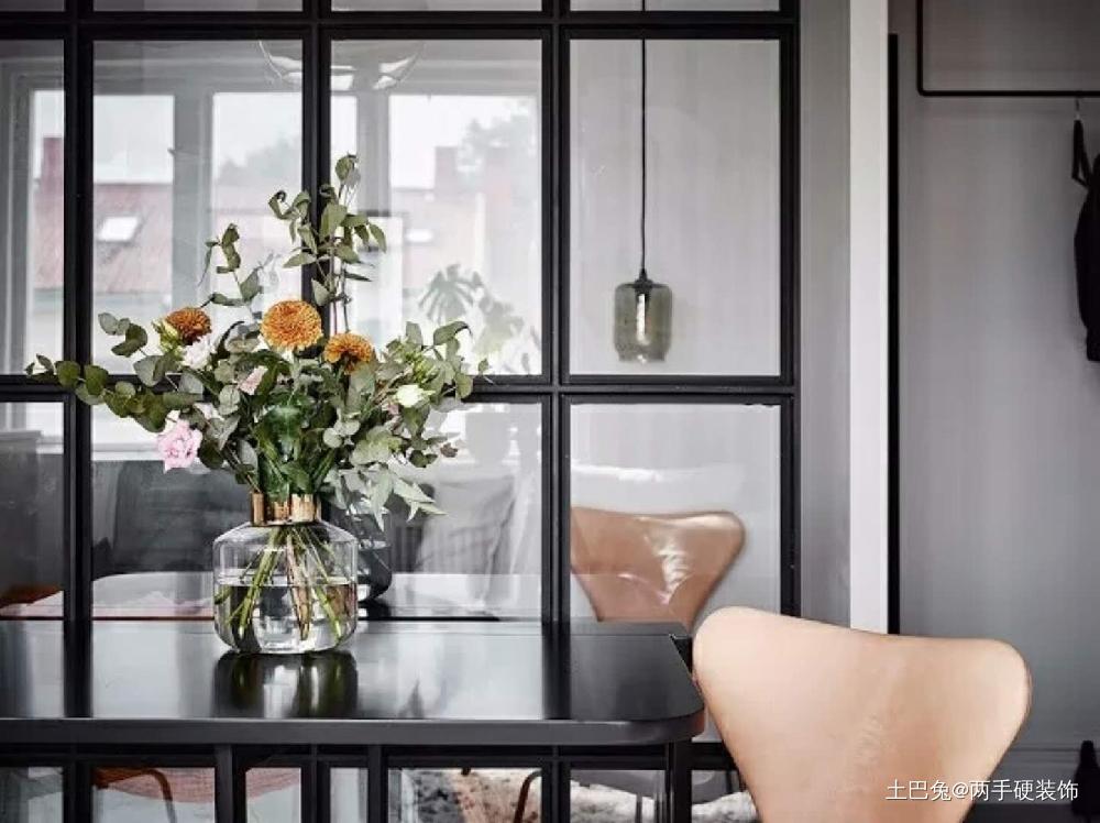 北欧风格一居室小户型纯净放松的家厨房北欧极简餐厅设计图片赏析